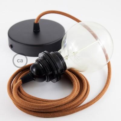 Pendelset för lampskärm med Deer rund textilkabel i bomull RC23