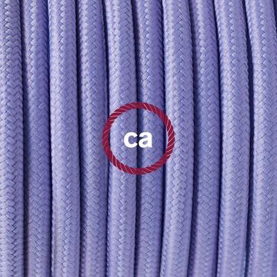Pendelset Porslin med rund textilkabel RM07 Lila