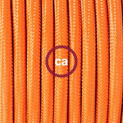 Pendelset Porslin med rund textilkabel RM15 Orange