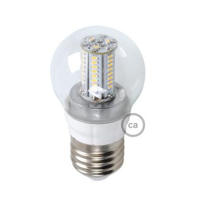 Lampa LED Sphere 4W E14 5000K Klar
