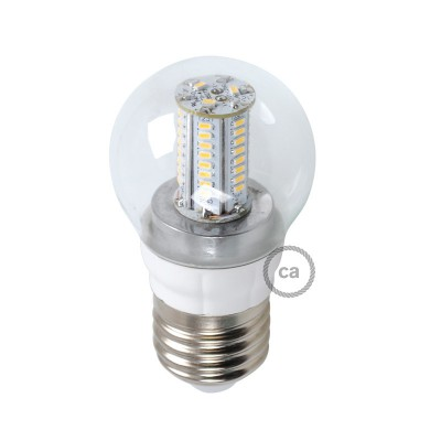 Lampa LED Sphere 4W E27 Klar
