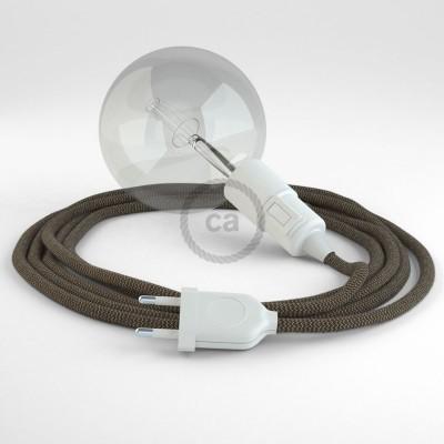 Skapa din egna Snake med textilkabeln RD73 ZigZag Bark och få ljuset dit du önskar.