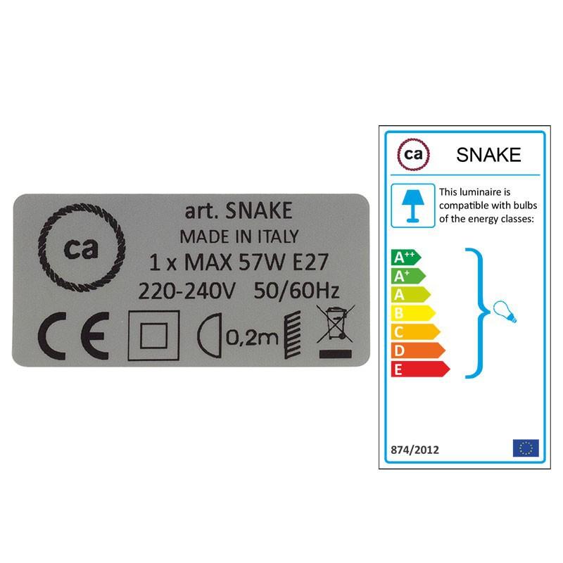 Skapa din egna Snake med linnekabeln RN01 Natur och få ljuset dit du önskar.