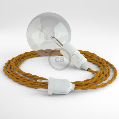 Skapa din egna Snake med textilkabeln TM25 Mustard och få ljuset dit du önskar.