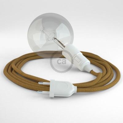 Skapa din egna Snake med bomullskabeln RC31 Golden Honey och få ljuset dit du önskar.