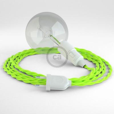 Skapa din egna Snake med textilkabeln TF10 Gul neon och få ljuset dit du önskar.