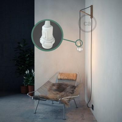 Skapa din egna Snake för lampskärmar med bomullskabeln RC04 Svart och få ljuset dit du önskar.