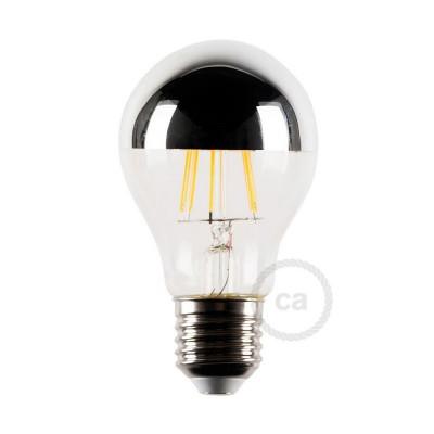 LED förspeglad ljuskälla silver 4W E27 2700K