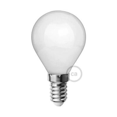 LED Ljuskälla Milky White - Miniglob G45 - 4W E14 Dimbar 2700K