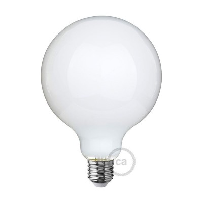 LED Ljuskälla Milky White - Glob G125 - 8W E27 Dimbar 2700K