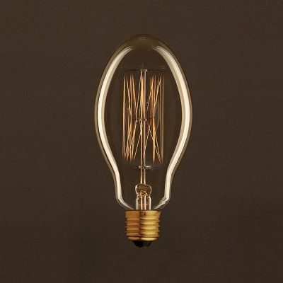 Vintage Candle ljuskälla Guld E75 med kolfilament cage 30W E27 dimbar 2000K