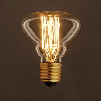 Vintage ljuskälla Guld BR95 med kolfilament cage 30W E27 dimbar 2000K