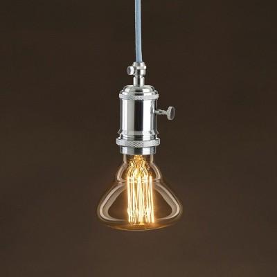 Vintage ljuskälla Guld BR95 med kolfilament cage 25W E27 dimbar 2000K