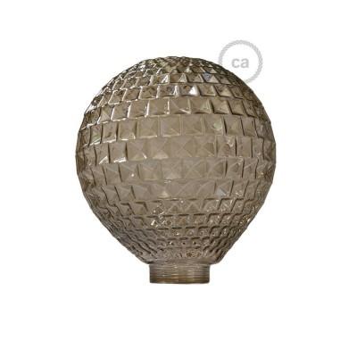 Glob till Modular dekorativ Ljuskälla G125 Rökfärgat fasettglas