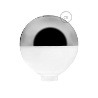 Glob till Modular dekorativ Ljuskälla G125 Silverförspeglad