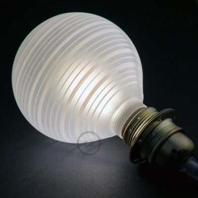 Modular LED Dekorativ Ljuskälla med Vit med horisontella linjer 5W E27 Dimbar 2700K