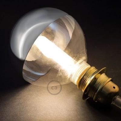 Modular LED Dekorativ Ljuskälla Silverförspeglad 5W E27 Dimbar 2700K