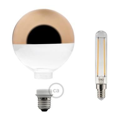 Modular LED Dekorativ Ljuskälla med Koppar förspeglad 5W E27 Dimbar 2700K