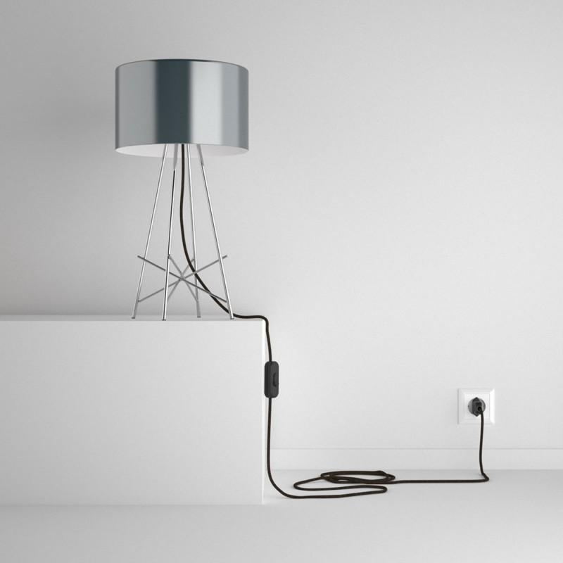 SnakeBis sladdställ med lamphållare - Brun Naturligt linne RN04