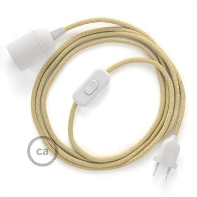 SnakeBis sladdställ med lamphållare - Jute RN06