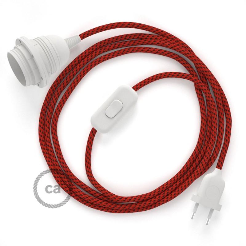 SnakeBis sladdställ med lamphållare - Red Devil Viskos RT94