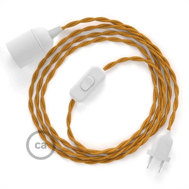 SnakeBis sladdställ med lamphållare - Guld Viskos TM05