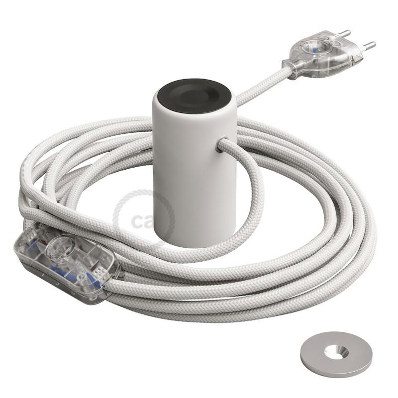 Magnetico®-Plug vit, magnetisk lamphållare, rödo att användas