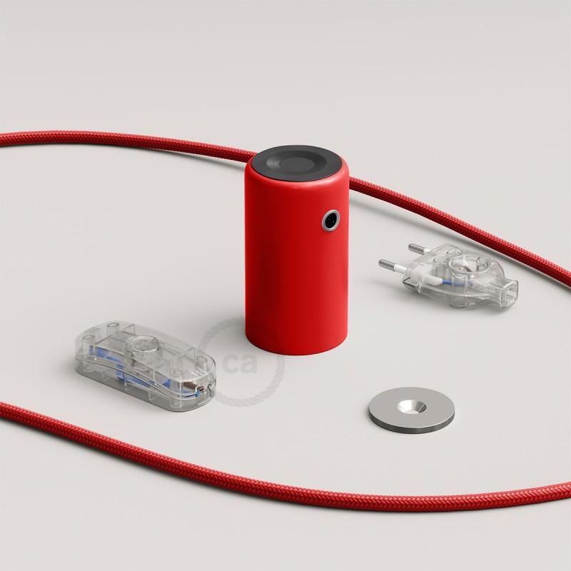 Magnetico®-Plug röd, magnetisk lamphållare, rödo att användas