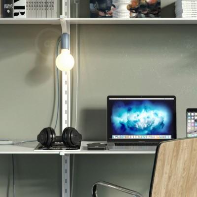 Magnetico®-Plug blå, magnetisk lamphållare, rödo att användas
