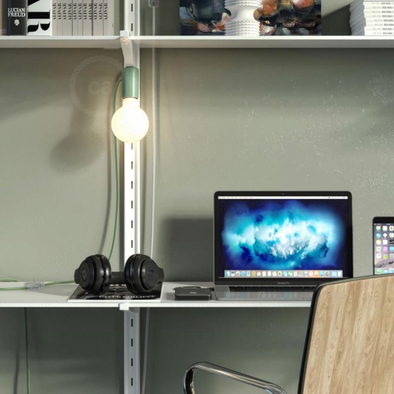 Magnetico®-Plug grön, magnetisk lamphållare, rödo att användas