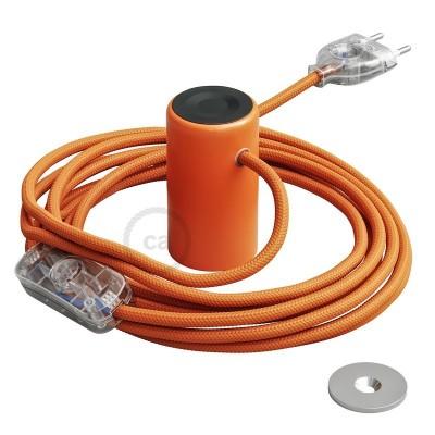 Magnetico®-Plug orange, magnetisk lamphållare, rödo att användas