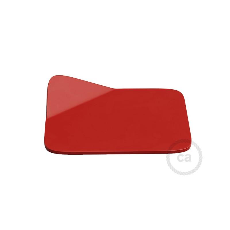 Magnetico®-Base röd, Metallbas för släta ytor för Magnetico®-Plug