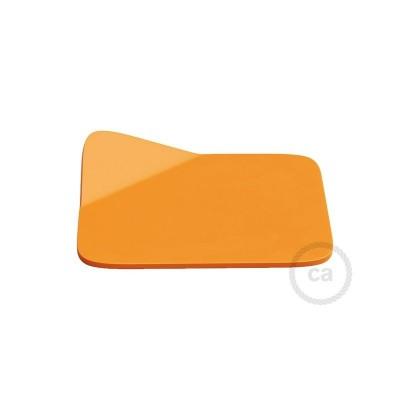 Magnetico®-Base orange, Metallbas för släta ytor för Magnetico®-Plug