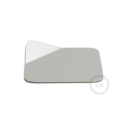 Magnetico®-Base krom, Metallbas för släta ytor för Magnetico®-Plug