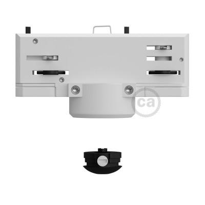 Eutrac Vit Taklampsadapter för 3-fas-skena