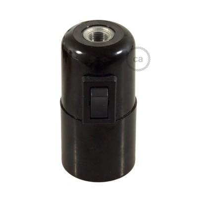 Bakelite E27 lamp holder kit with switch