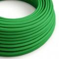 Rund textilkabel RM06 - Grön
