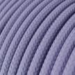 Rund textilkabel RM07 - Lila