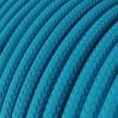 Rund textilkabel RM11 - Azurblå