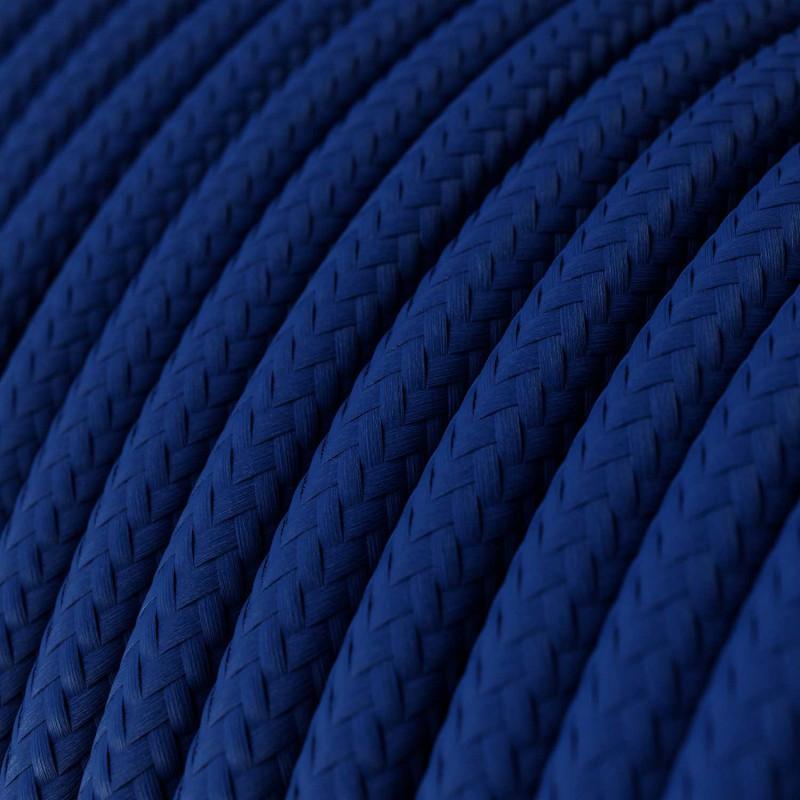 Rund textilkabel RM12 - Blå