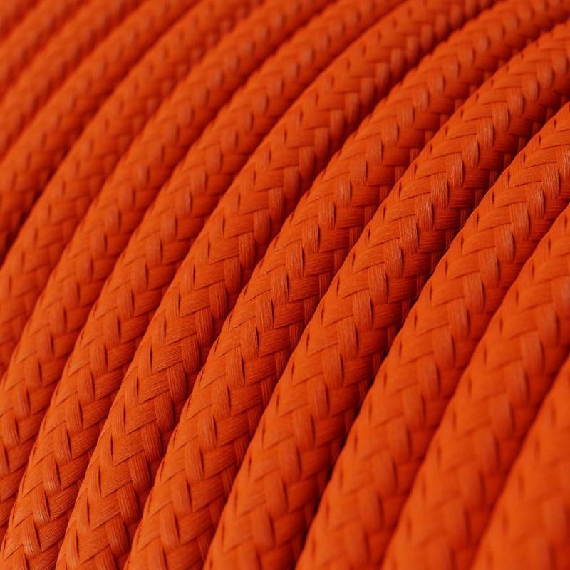 Rund textilkabel RM15 - Orange