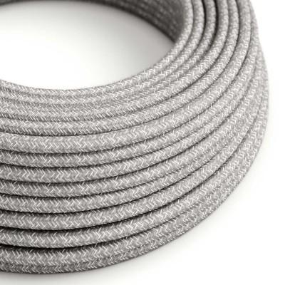 Rund textilkabel RN02 - Grå