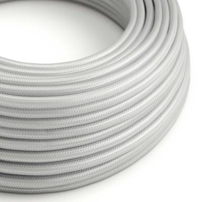 Rund textilkabel RM02 - Silver