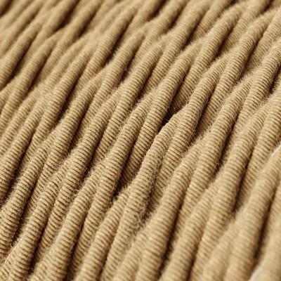 Tvinnad textilkabel i jute TN06
