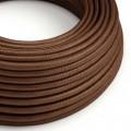 Rund textilkabel - RM36 Rust