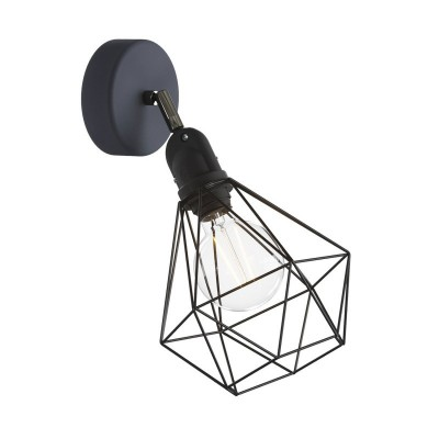 Fermaluce EIVA with Diamond lampshade, adjustable joint and lamp holder IP65 waterproof