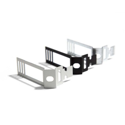 Black metal Adjustable Cable Clip for Creative-Tube
