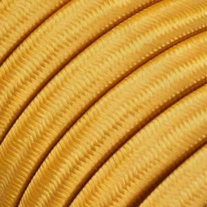 Textilkabel för String Lights, täckt av viskostyg, Guld CM05