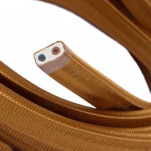 Textilkabel för String Lights, täckt av viskostyg, Whisky CM22