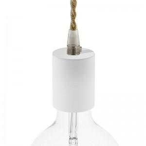 Wooden E27 lamp holder kit